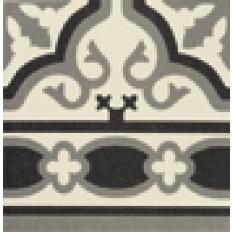Victorian Cenefa Florentin Weiss  20/20 cm