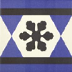 Originalmuster Cenefa Victorian Geo